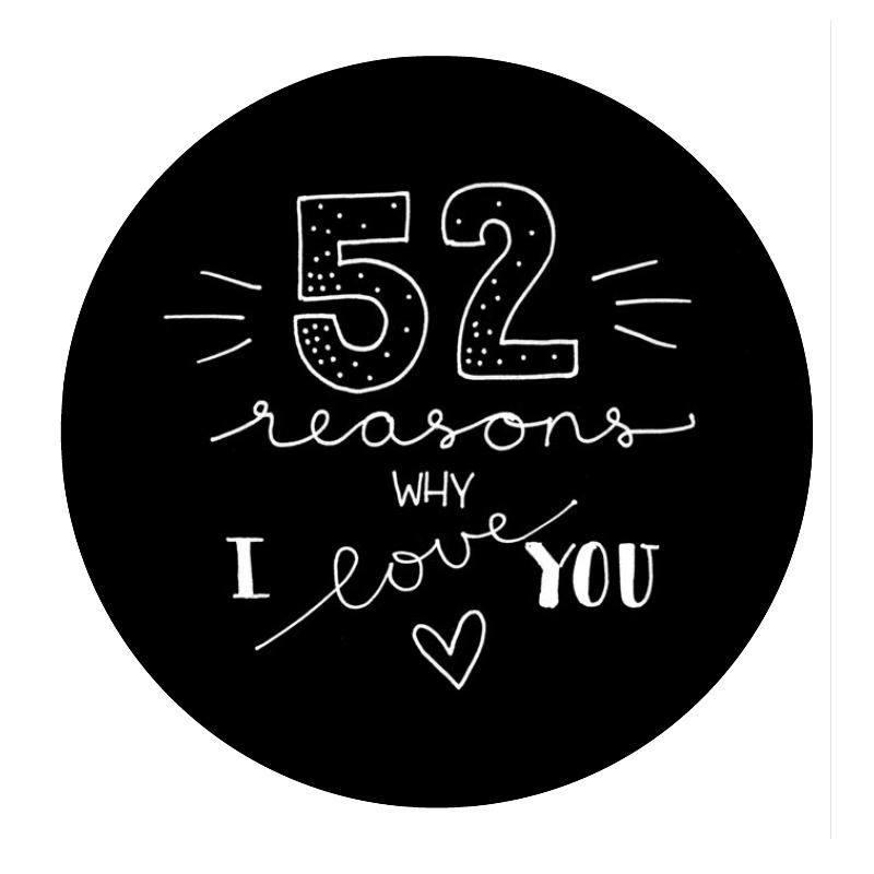 Memory Jar 52 Reasons Why I Love You Box Of Memories